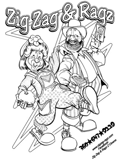 Coloring Pages For Zigzag : Coloring pages for zigzag colouring page